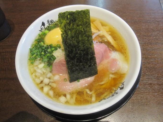 蔵出し生醤油ラーメン(コナモンの日) / 麺のようじ