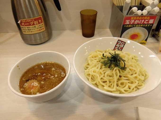 『煮干しらーめん 玉五郎 阪急三番街店』つけめん(並)