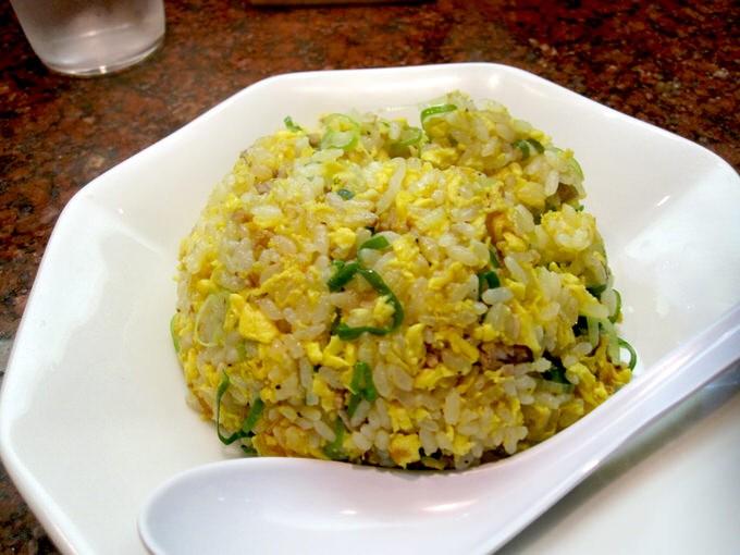 中華麺食堂 亀吉 / 半炒飯セット 金の中華(塩)