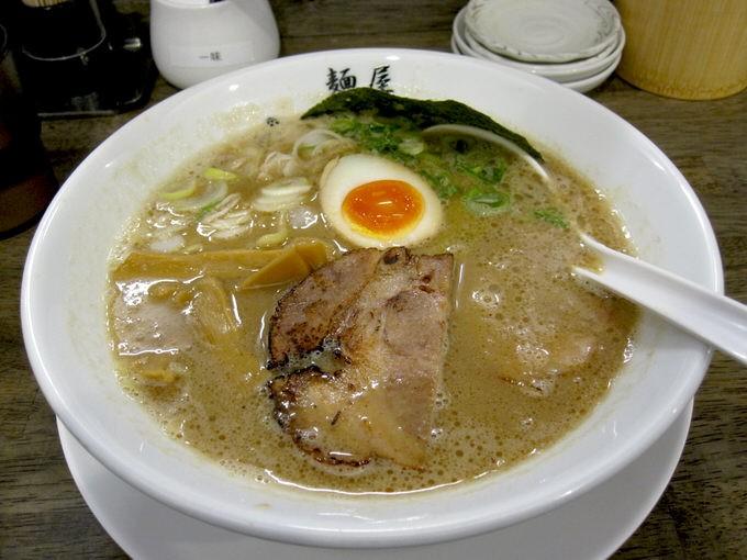 麺屋 きょうすけ 谷町店 / 鶏白湯魚介ラーメン