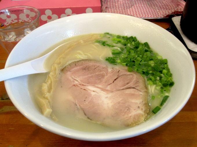 麺屋 菜々兵衛 / 鶏白湯 塩 / 2012年夏-14