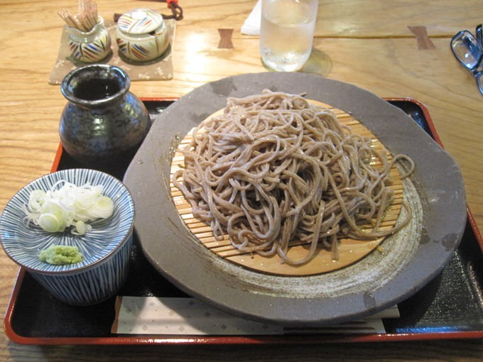 活木庵 / もりそば / 2012年夏−19