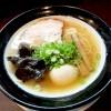 『金久右衛門 本店 / しじみゴールド』魚貝風味をプラスのあっさり醤油ラーメン