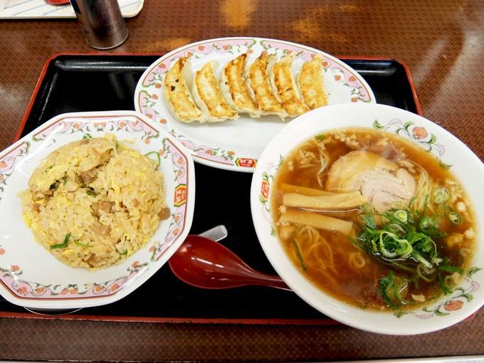 『餃子の王将 巽店 / ラーメンセット』