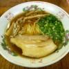 『らーめん工房 RISE / 中華そば』 やっぱりスープが美味しくて、細麺なのでするするっと食べ終えちゃいます