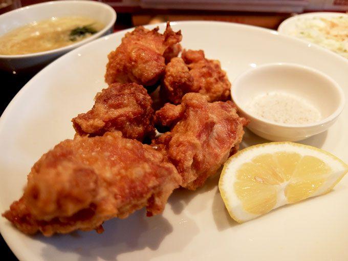 中華厨房 もりもと「からあげランチ」 〜大阪 近鉄八尾で食べるカリッとじゅわ~な美味しいからあげ定食〜