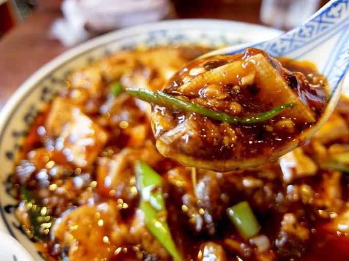 中華菜 オイル「四川麻婆豆腐ランチ」 〜大阪 福島 う、うまっ!! 辛くて良い香りのうっ、うまっ!!四川麻婆豆腐〜