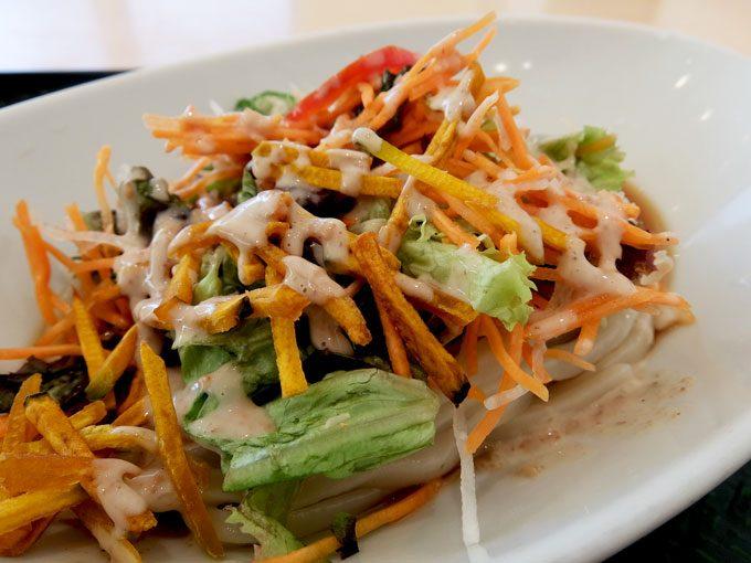 はなまるうどん「コクうまサラダうどん」 〜シンプルでさっぱり、暑い日にはぴったりの食べやすいサラダうどん〜