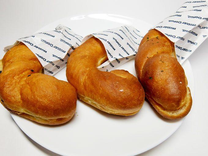 ミスタードーナツ「塩ドーナツ」 〜塩ドーナツ めんたいマヨ 北海道あずき〜