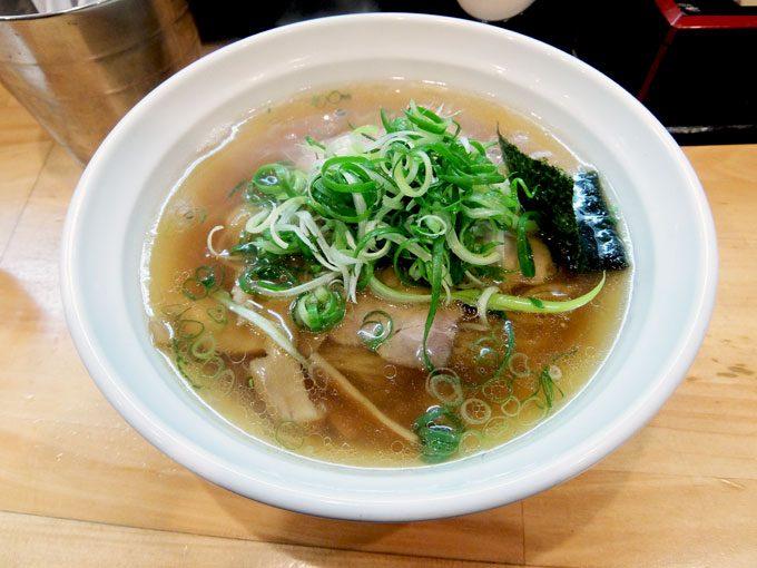 大阪麺哲「醤油」 〜大阪 梅田 梅田の麺哲も美味しかった〜