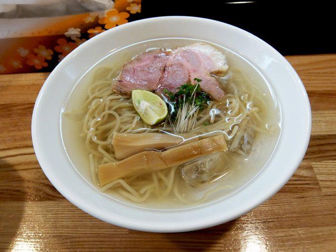 麺や 一想「冷やし」 〜大阪 久宝寺口 夏限定 冷やしラーメン 今度はにぼしメインでこれまた美味しい!!〜