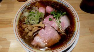 サバ6製麺所 福島本店「サバ醤油そば」〜大阪 福島 やっぱりガツン!!とうまい!!サバ醤油!!〜