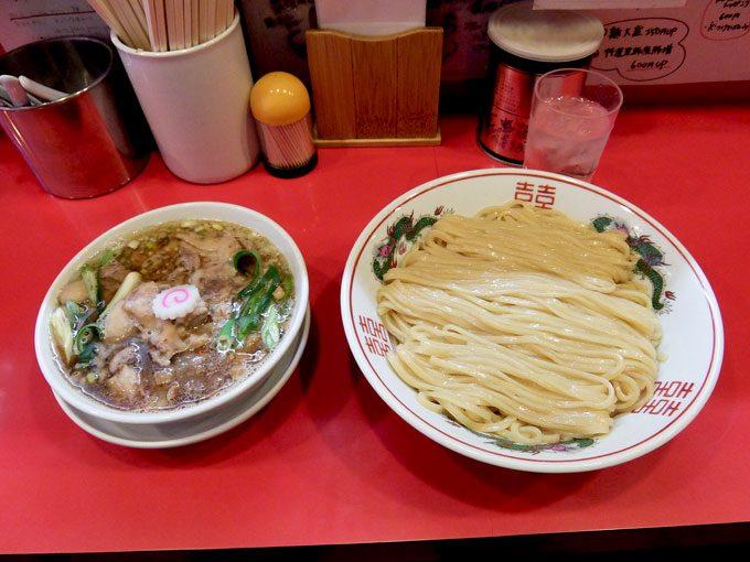 カドヤ食堂 今福鶴見店「つけめんand豚足」〜最高です〜