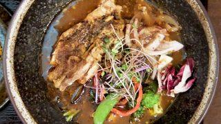 スープカレー なっぱ「鶏なっぱスープカレー」〜大阪 北新地 こだわりのスリランカスパイススープカレー うまい!!〜