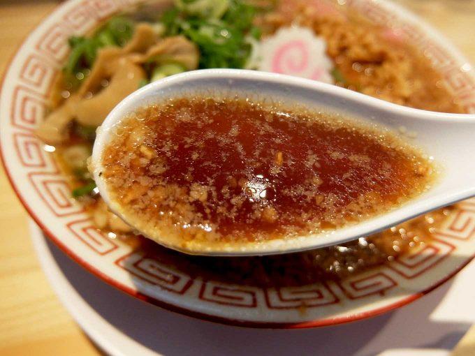 サバ6製麺所 中華そば スープ