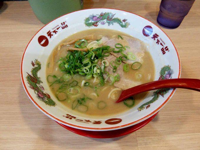 天下一品 西梅田店「鶏の唐揚げ定食」〜みんな大好きこってり+鶏の唐揚げ!!〜
