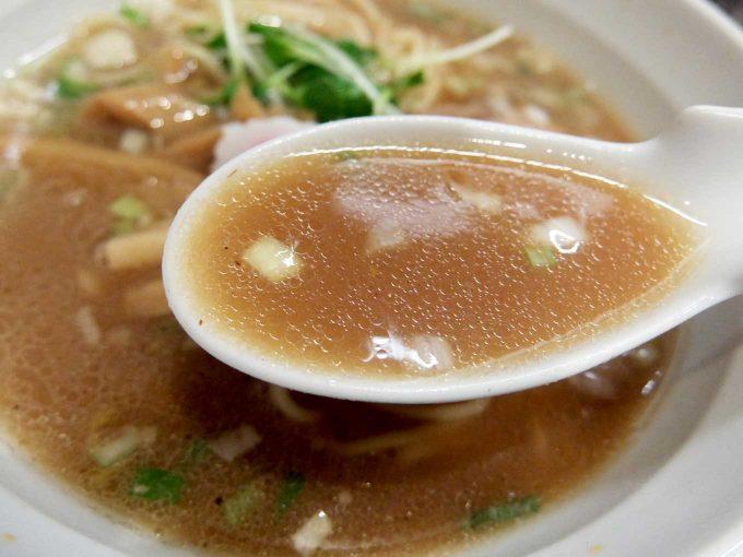 つけめん TETSU 中華そば スープ