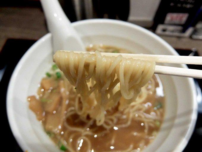 つけめん TETSU 中華そば 麺
