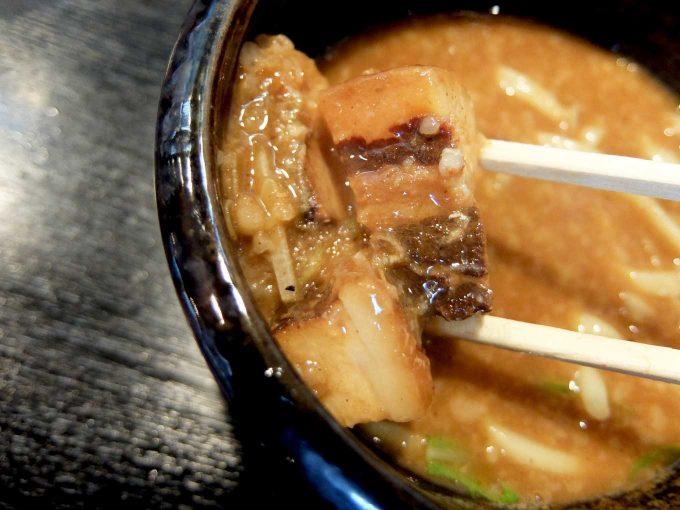 つけ麺専門 麺処 虎ノ王 梅田店 つけ麺 チャーシュー