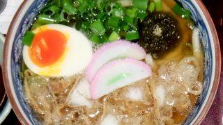 うどん棒 大阪本店「かすうどん」〜あっさり良い香りのお汁にたっぷりの油かす、うまいわ〜!!〜