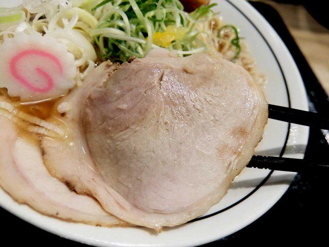 京都 麺屋たけ井 阪急梅田店 ラーメン チャーシュー