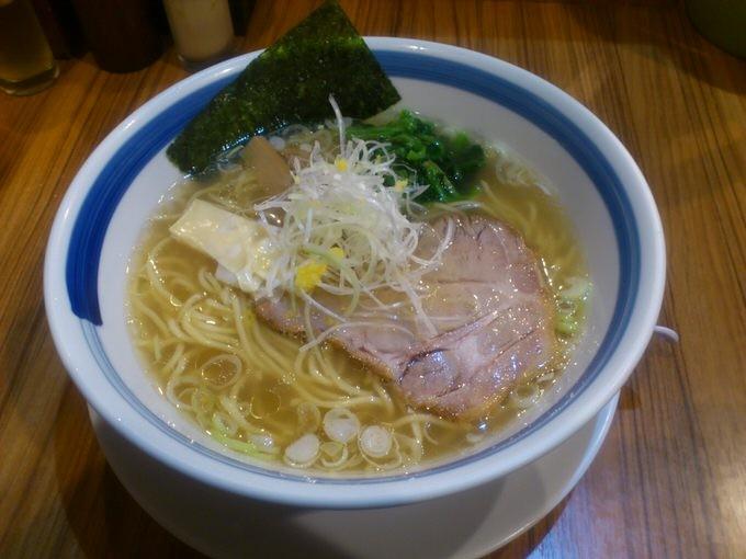 「柚子塩らーめん」麺屋 楼蘭 in 大阪駅前第2ビル 梅田 大阪