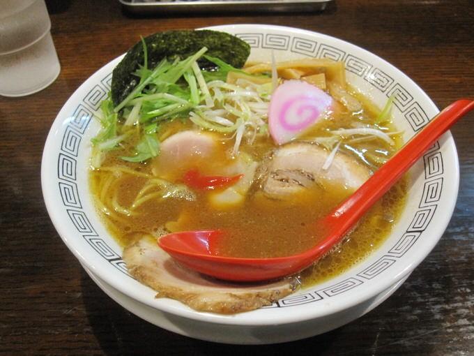 『三麺流 武者麺 江坂店 / 中華そば こってり』