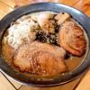 『大金星 (その2)/ 鶏白湯ラーメン』 白湯スープにマー油をプラスしたこてっりまろやかスープともっちり極太全粒粉麺