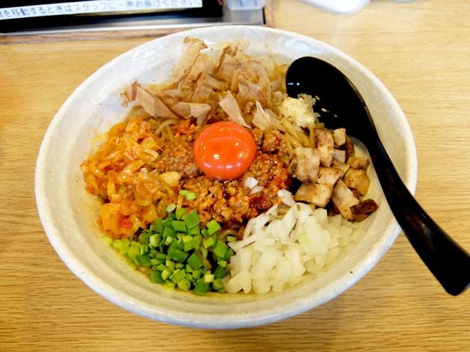 『団長 / 男の台湾まぜ麺』 ボリュームも味もガッツリの台湾まぜ麺!!