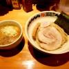 『麺FACTORY JAWS / 極どろつけ麺』 麺がつけ汁に沈まない濃厚なつけ麺