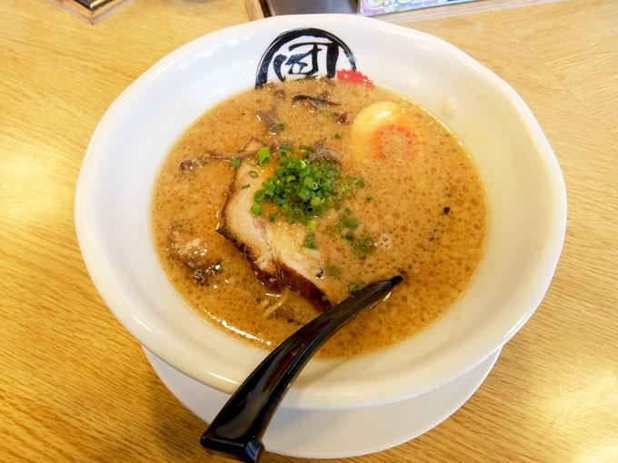『麺屋 団長 / 豚骨黒醤油』1月3日限定の豚骨黒醤油ラーメン
