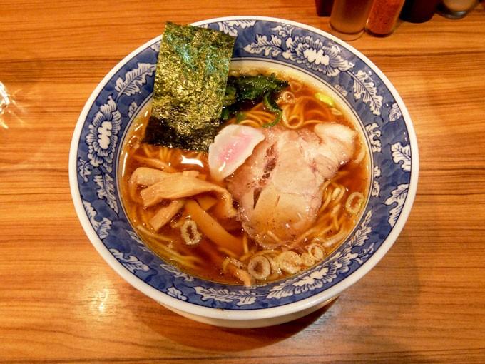 『麺屋 楼蘭 / 醤油 あっさり』大阪駅第2ビルの美味しいラーメン店