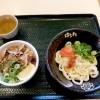 はなまるうどん「うどんセット(ミニ塩豚丼・明太おろししょうゆ)」 〜お得なセットメニュー、うどんセットを食べる〜