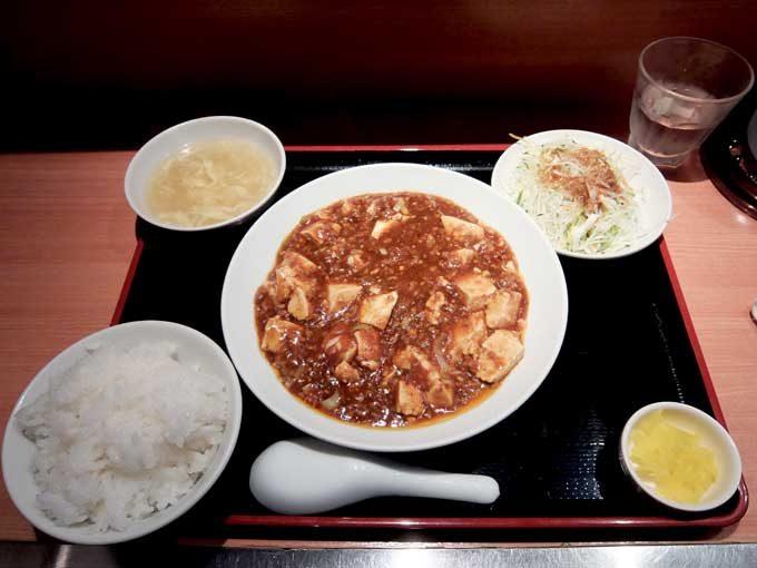 中華厨房 もりもと「マーボー豆腐ランチ」 〜大阪 近鉄八尾 ピリ辛マーボー豆腐をあつあつご飯で食べる〜