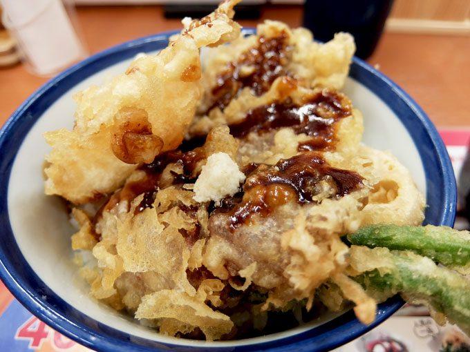 天丼てんや「てんや風ローストビーフ天丼」 〜ローストビーフの天ぷら… チャレンジ過ぎる丼ぶり〜