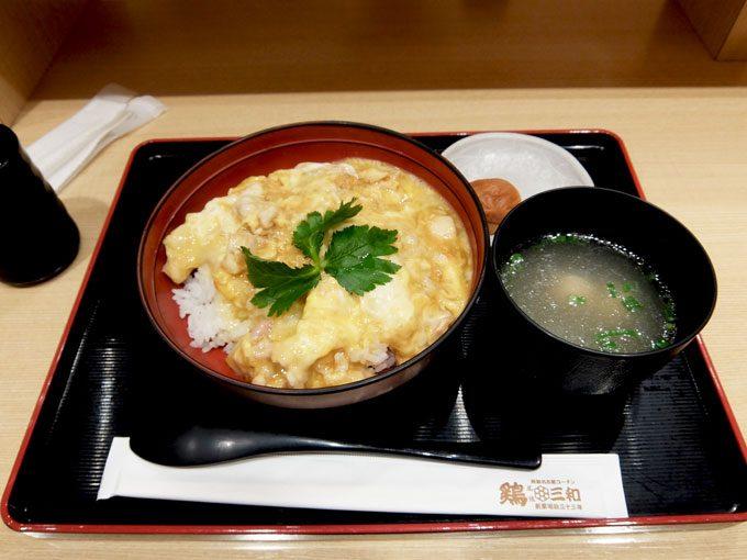 鶏三和 LUCUA大阪店 〜大阪 梅田 名古屋コーチン 親子丼〜