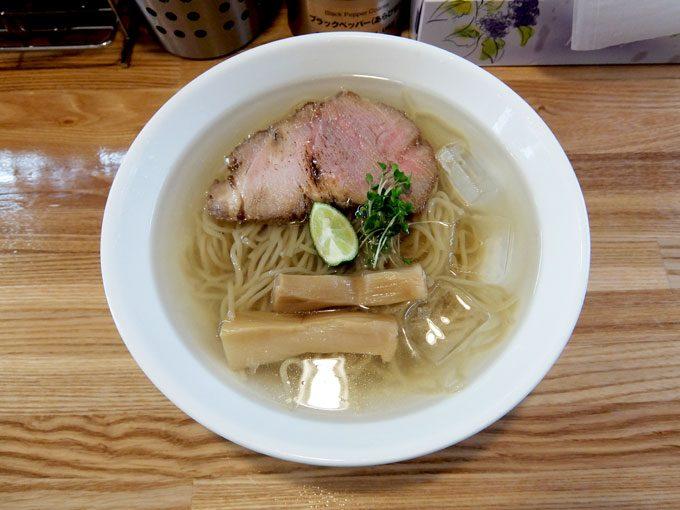麺や 一想「冷やし」 〜大阪 久宝寺口 夏限定 冷やしラーメン びっくりするほど美味しい!!〜