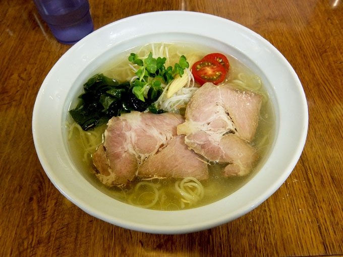 らーめん工房 RISE「涼塩」 〜大阪 八尾 去年何度も食べた美味しい冷やしラーメンを今年も〜