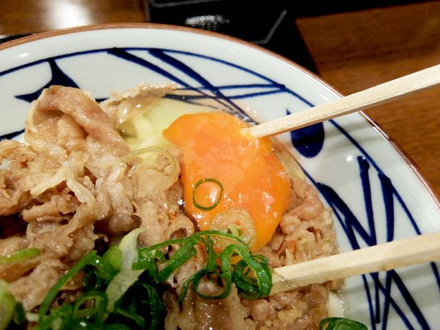 丸亀製麺「牛すき釜玉」〜これはおいしいに決まってます!!〜
