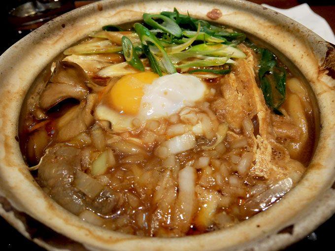 大阪 梅田「うどん棒 大阪店」牛すじ 味噌煮込みうどん