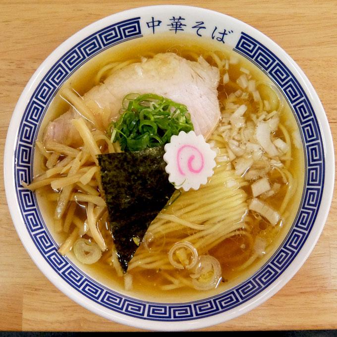 中華そば ぬんぽこ「中華そば+めし+生卵」〜大阪 天六 バランスの良い鶏魚介スープに歯応えの良い麺。うまいわ〜〜