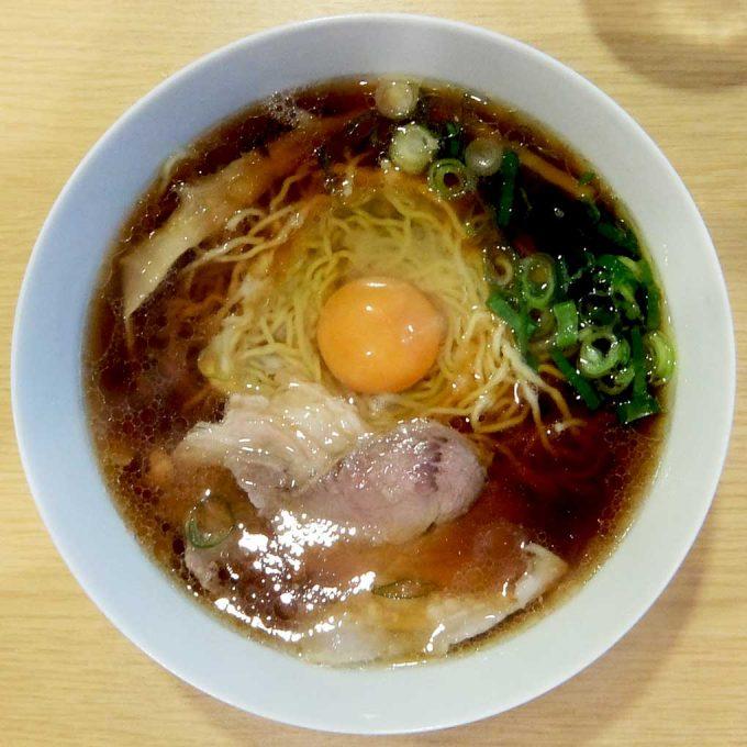 西梅田 らんぷ「醤油ラーメン チキン」〜大阪 福島 うまいチキンラーメン!!〜