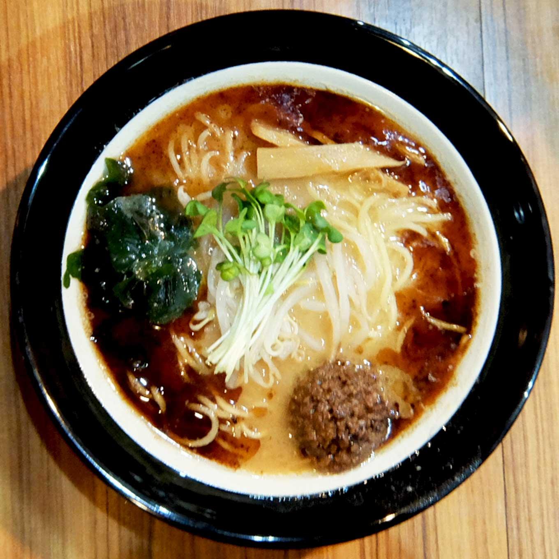 麺屋 桜蘭 焦がし味噌らー麺