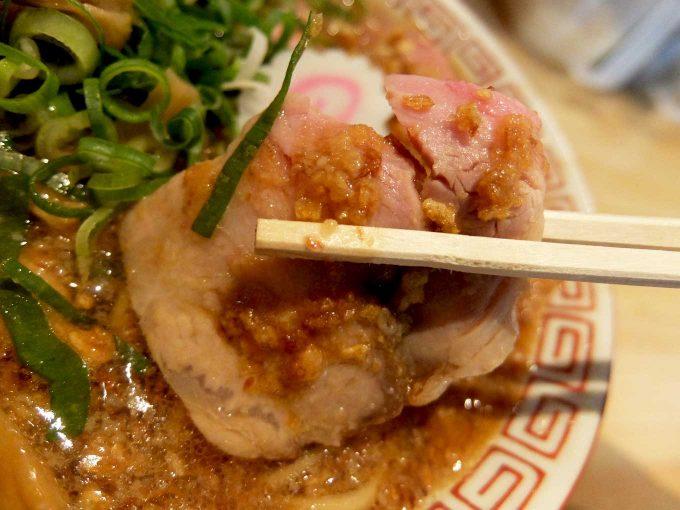 サバ6製麺所 中華そば チャーシュー