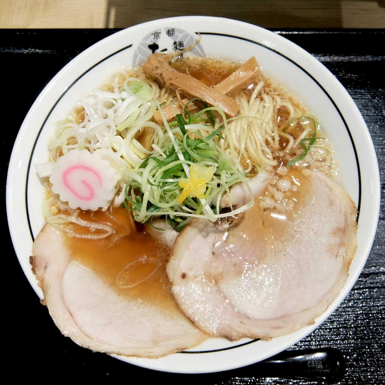 京都 麺屋たけ井 阪急梅田店 ラーメン
