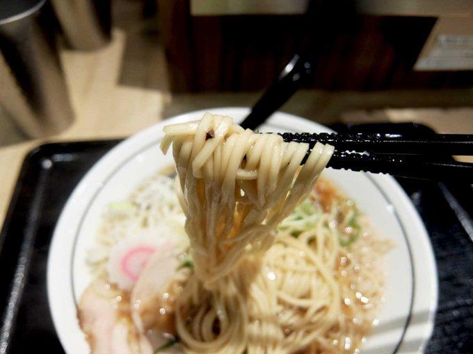京都 麺屋たけ井 阪急梅田店 ラーメン 麺