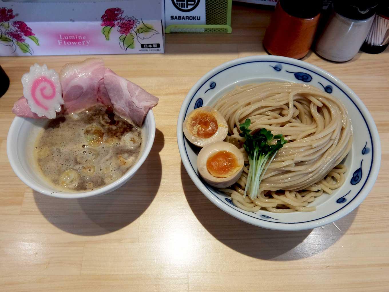 サバ6製麺所 福島本店 サバ濃厚鶏つけ麺