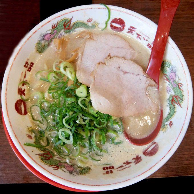 天下一品 東梅田店「鶏の唐揚げ定食」〜10月01日は天下一品の日〜