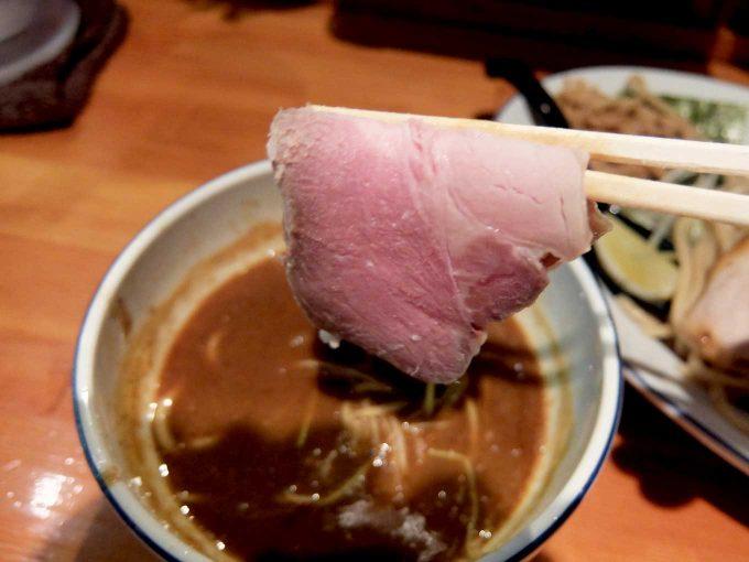 麺 FACTORY JAWS つけ麺 チャーシュー