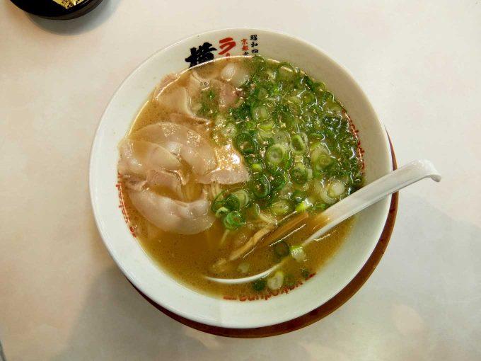 ラーメン横綱 東大阪店「ラーメン、餃子、ライス」